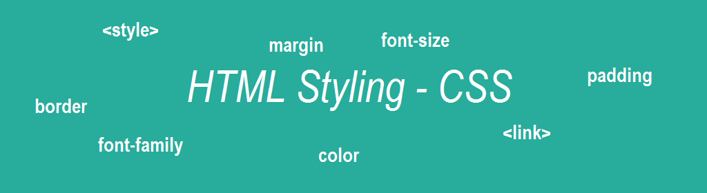 HTML style using CSS
