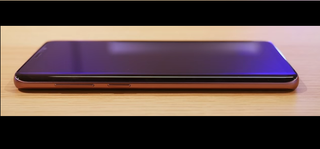 Samsung Galaxy S9 - Design