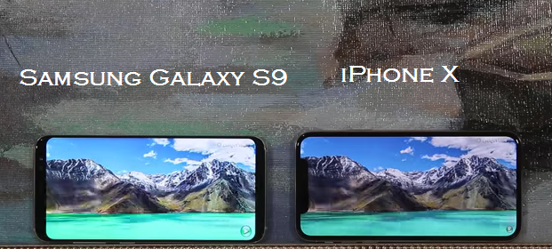 iPhone X Vs Samsung Galaxy S9 - Which One You Should Buy_Display