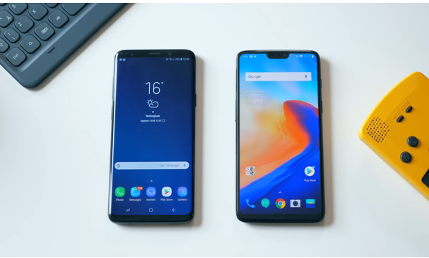 Samsung Galaxy S9 Vs OnePlus 6 Which Is Better To Buy_Display