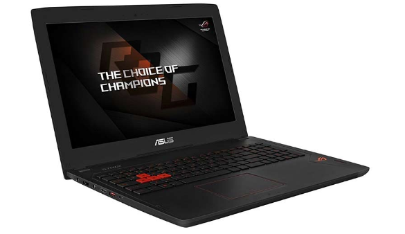 Top 10 Laptops You Can Use for Both Gaming and Business_Asus ROG Strix GL502VS