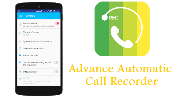 7 Best Apps for Call Recording in Android Phone Advance Automatic Call Recorder Download
