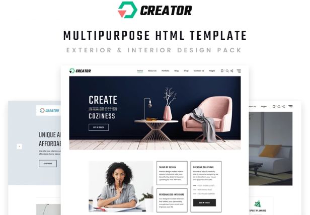 HTML5 Templates – Free Download For eCommerce & Small Business_Design Multipurpose HTML5 Template