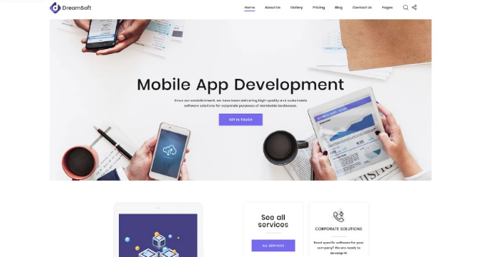 HTML5 Templates – Free Download For eCommerce & Small Business_web Development Multipage HTML Template