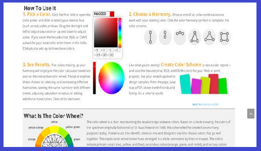 20 Best Web Designing Color Tools of 2020_Color Calculator