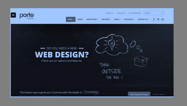Top 10 Multi-purpose and Responsive HTML Templates_Free Download_Porto