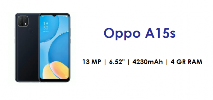 Oppo A15s - SPecifications, Price, Best Buy and Release Date