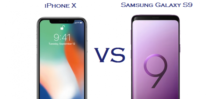 iPhone X Vs Samsung Galaxy S9 - Which One You Should Buy?