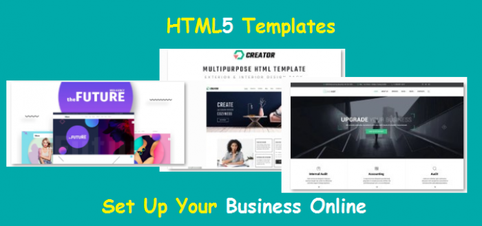 HTML5 Templates – Free Download For eCommerce & Small Business__Featured